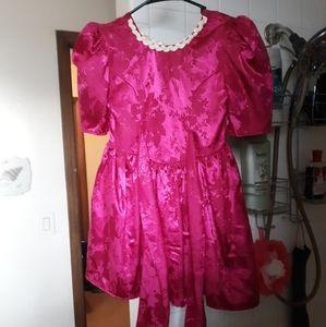 Fuchsia SIZE 9 Girl Dress